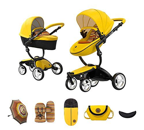 Mima Xari Stroller Baby Strollers, Yellow Car Seat And Stroller