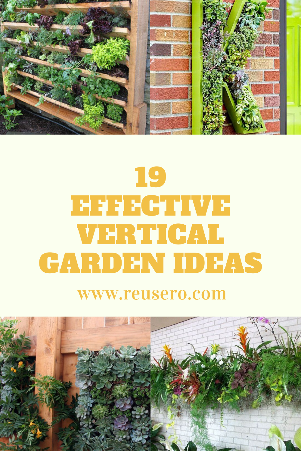 19 Awesome Vertical Gardening Ideas For Your Garden Reusero Vertical Garden Garden Decor Diy Garden