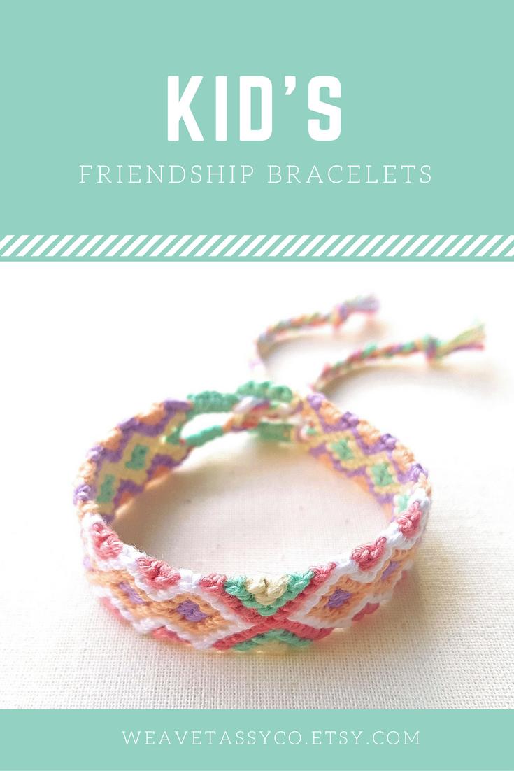 Braided bracelet for girls by weavetassyco a cute everyday