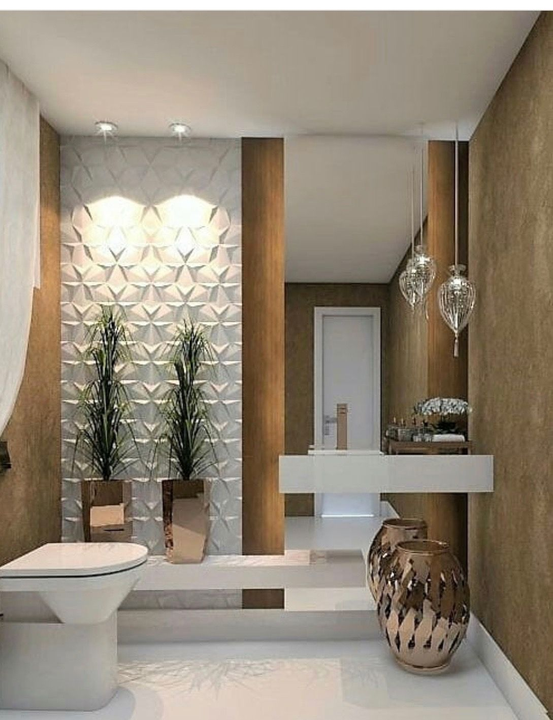 Banheiros moderno home pinterest banheiros modernos for Fotos de banos modernos en cuba