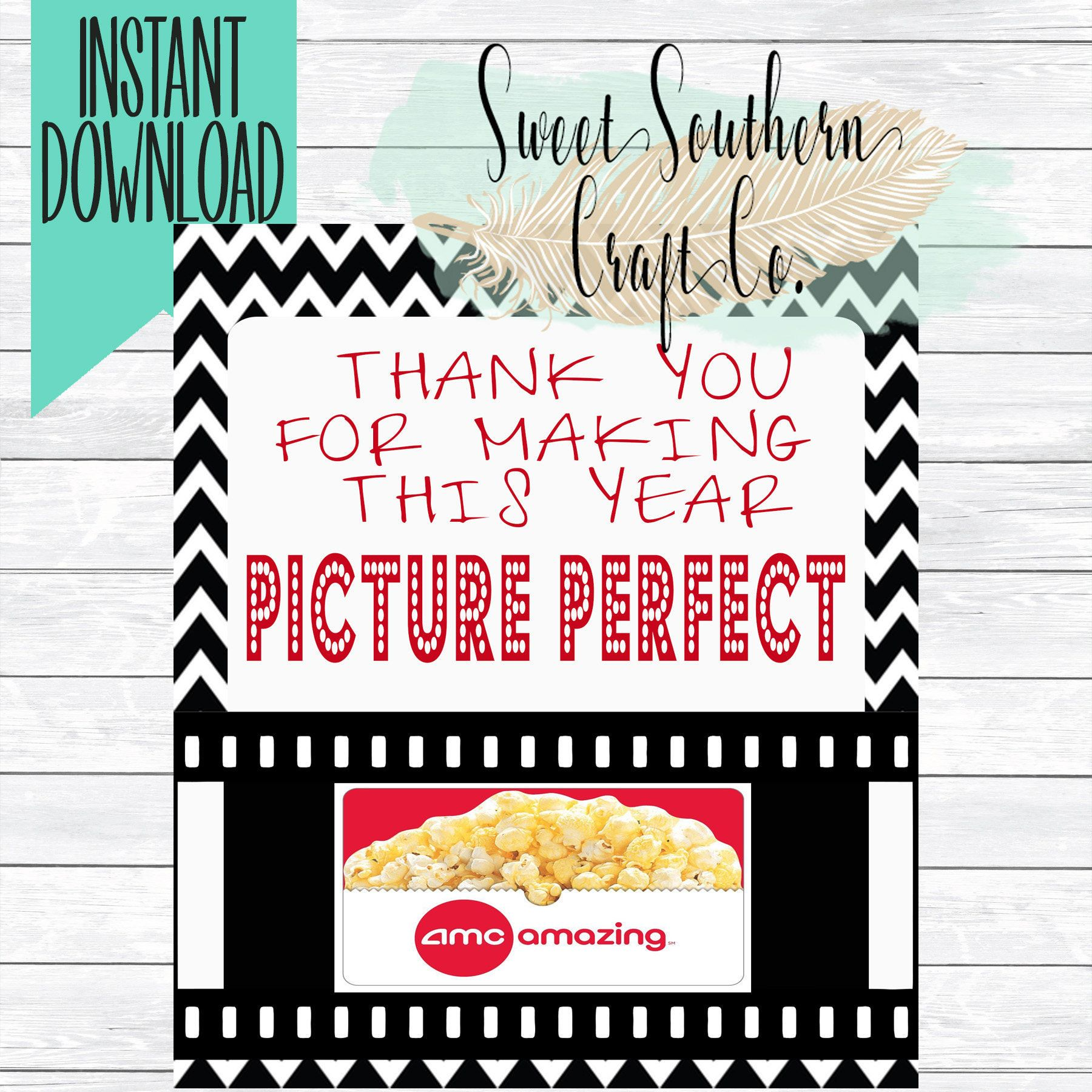 Instant Download Thank You For Making This Year Picture Perfect