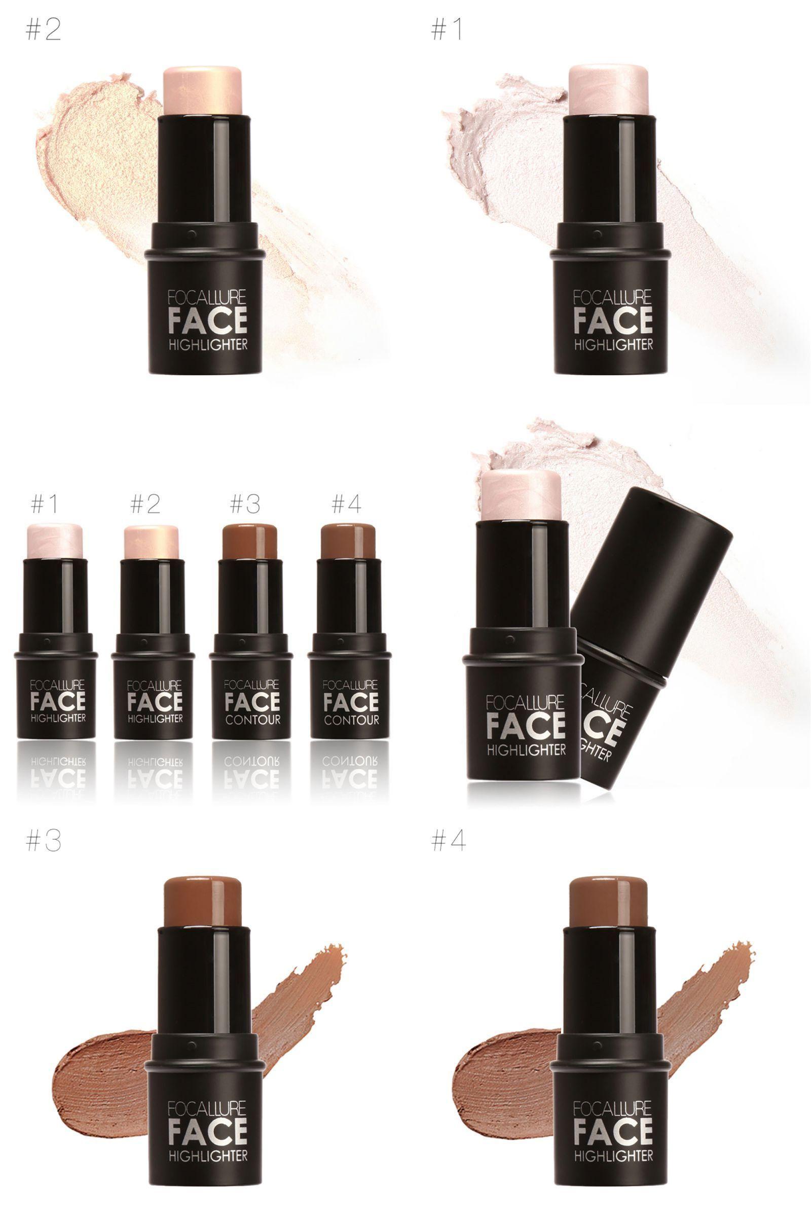 [Visit to Buy] Face Highlighter Shimmer Powder Cream