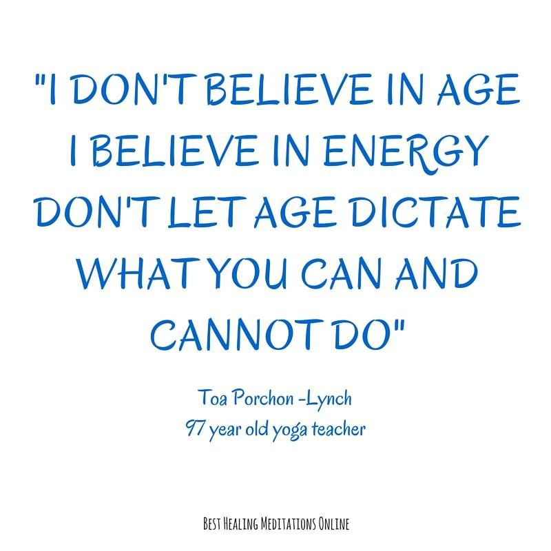 Age Is Just A Number Anything Is Possible Life Quotes Quotes