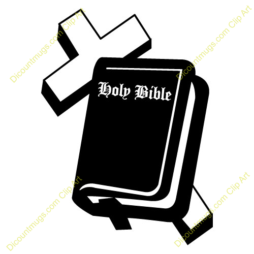 holy bible clip art clipart 11367 cross bible cross bible rh pinterest com christian cross and bible clipart clipart open bible and cross