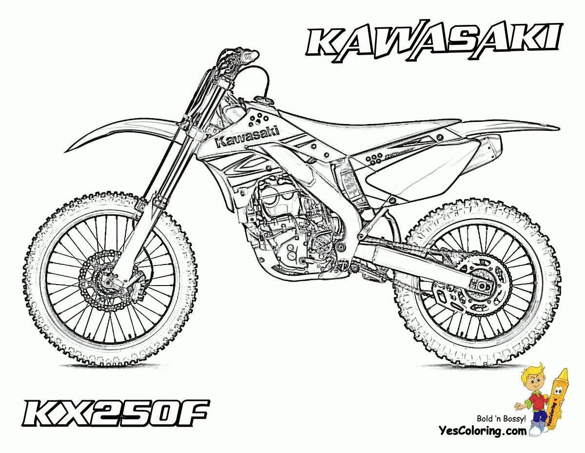 Dessins de coloriage motocross imprimer sur laguerche en dessin pour coloriage de moto cross - Dessin de motocross ...