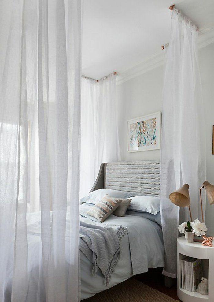 himmelbetten himmelbett vorhang schlafzimmer einrichten HOME - vorhänge für schlafzimmer