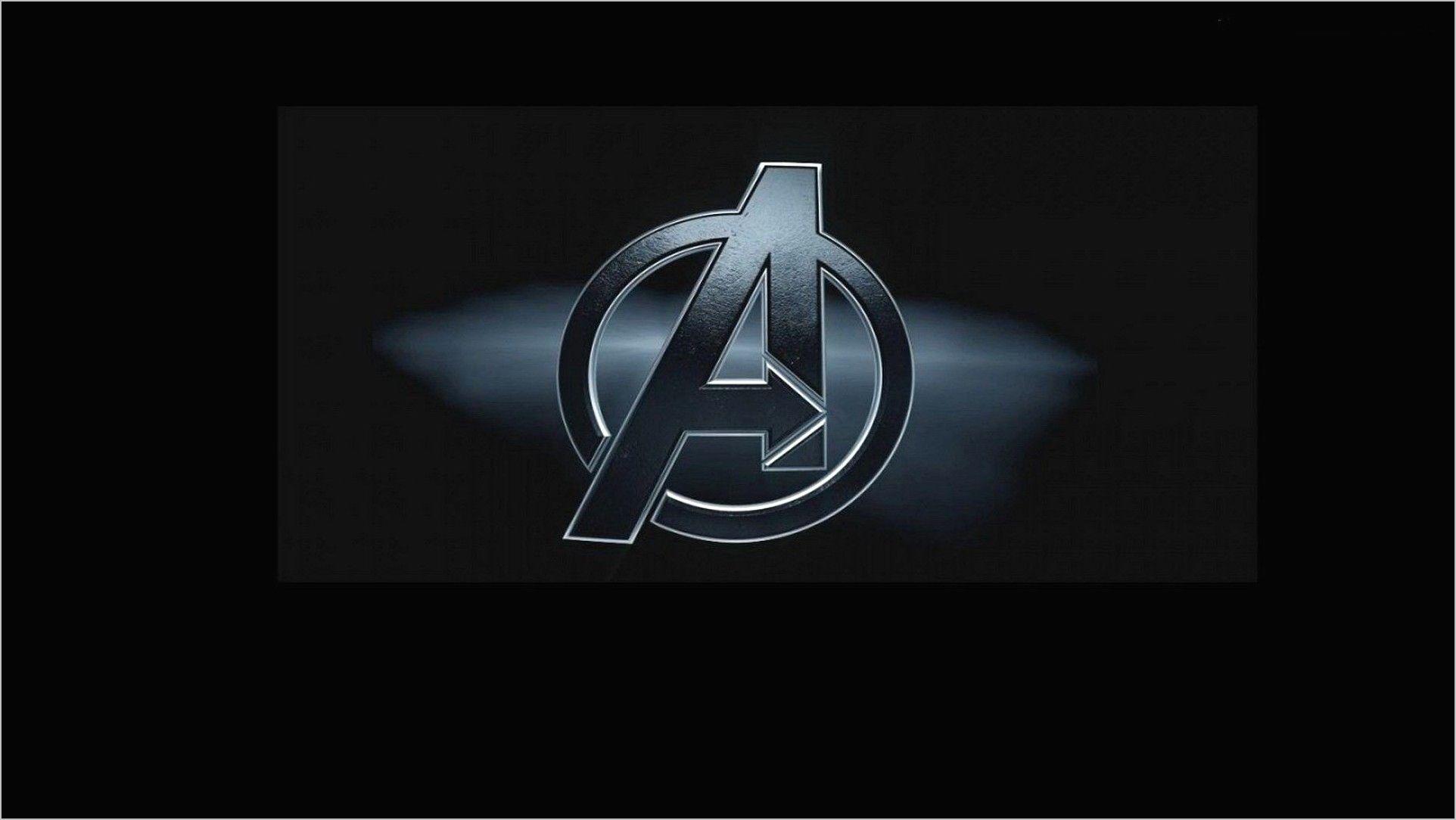 Avengers Logo Wallpaper 4k For Windows 10 Avengers Logo Logos Wallpaper