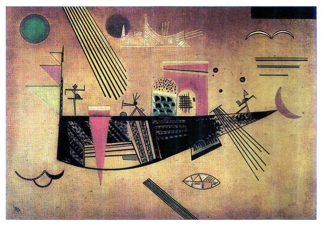 Capricious by @artistkandinsky #abstractart