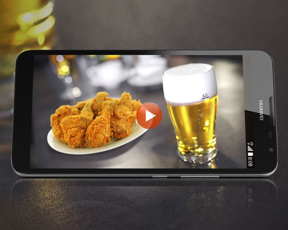 Fried chicken and beer. Can you think of a better way to ...