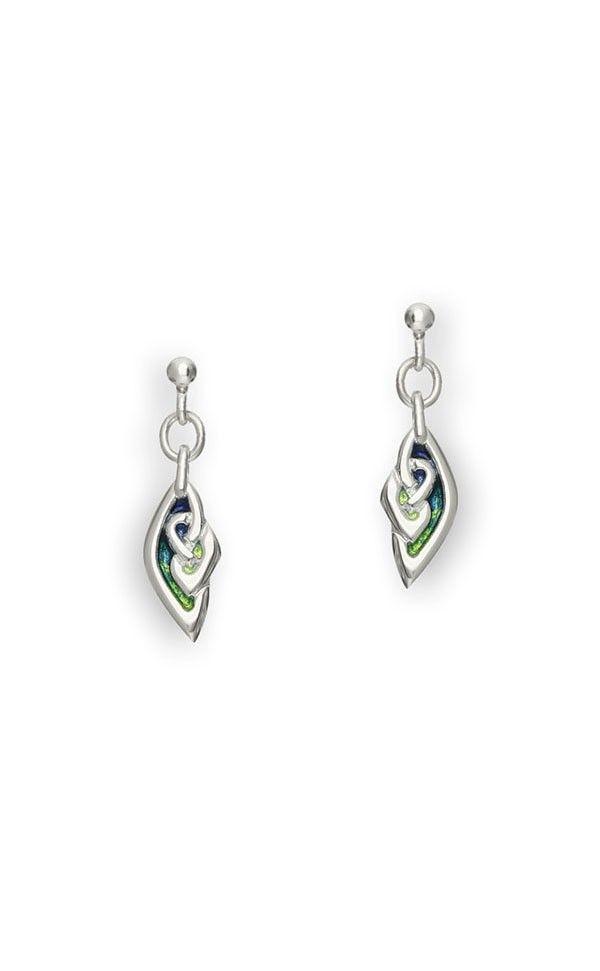 Ortak Archibald Knox Silver Earrings EE74 ourxfNxN