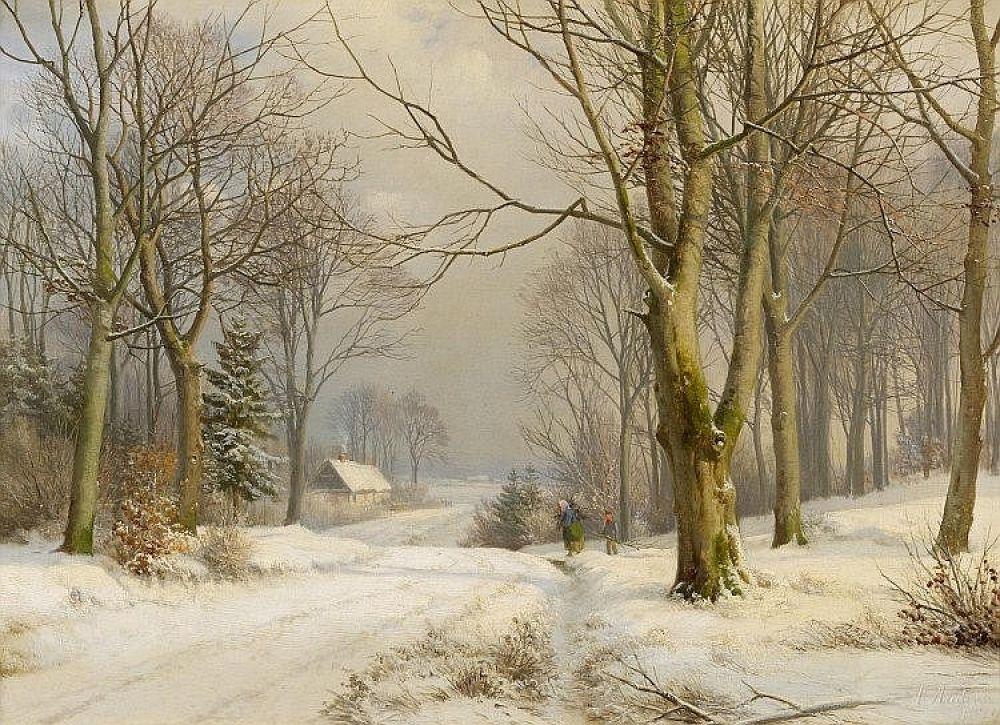 ANDERS ANDERSEN-LUNDBY (DANISH, 1841-1923)..