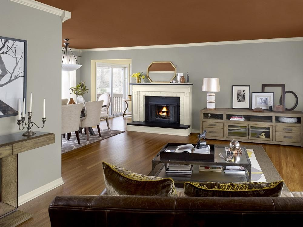 Color Combinations for Living Rooms | ... home color ...