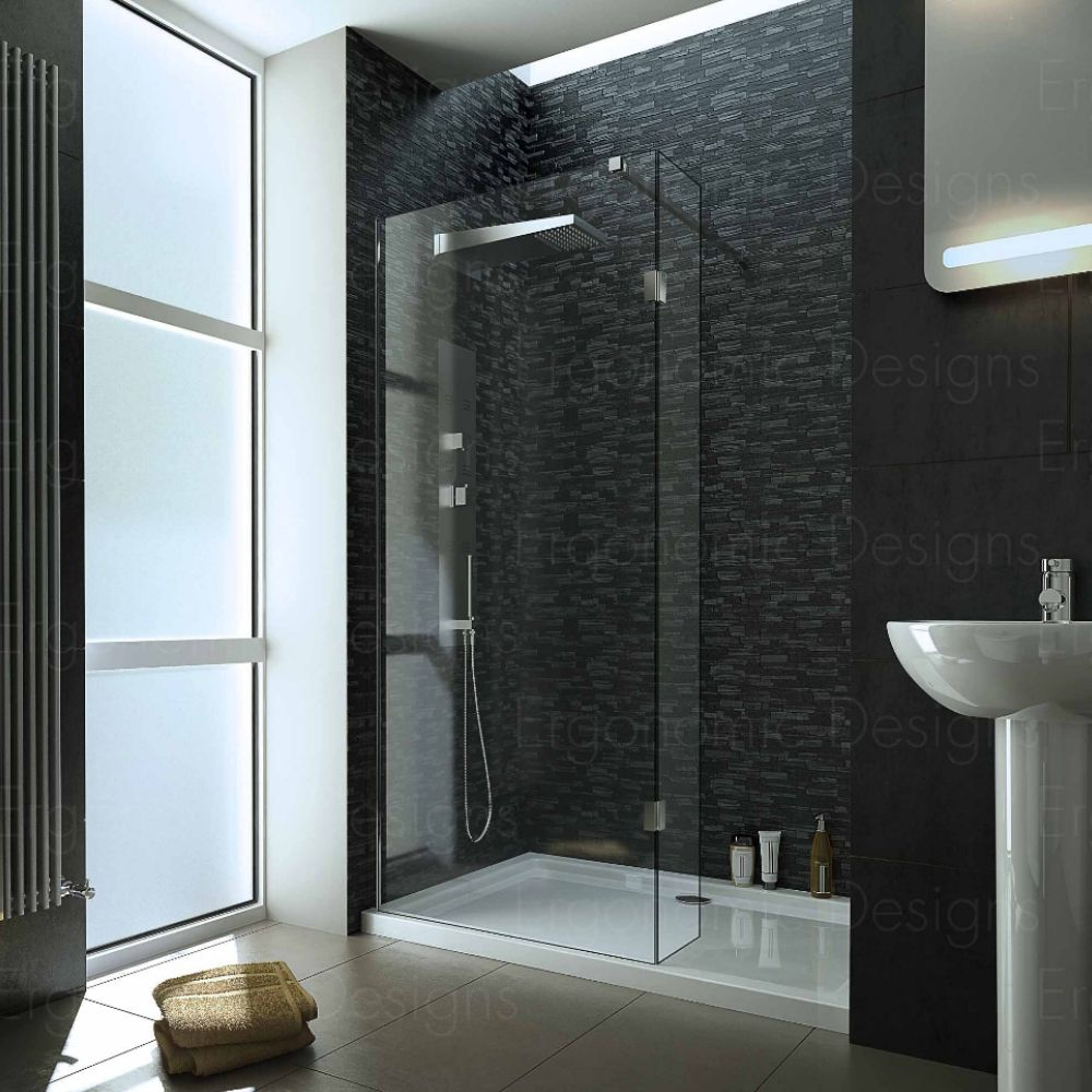 Ergonomic Designs range of 10mm walk in shower enclosures | Walk In ...