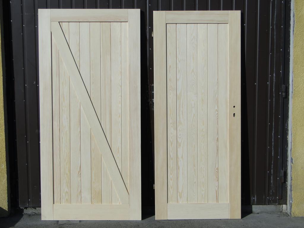 Drzwi Wewnetrzne Drewniane Sosnowe Frezowane1deska Tall Cabinet Storage Interior Design Design