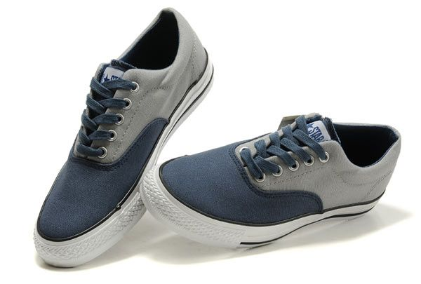 6109f62a262f1b Blue Grey Converse Christmas Collection All Star Low Tops Tonal Stitching  Canvas  converse  shoes