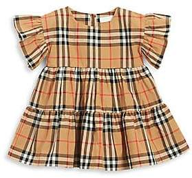 a6abb7e4033d Burberry Baby Girl's Alima Plaid Cotton Dress in 2019 | Products ...