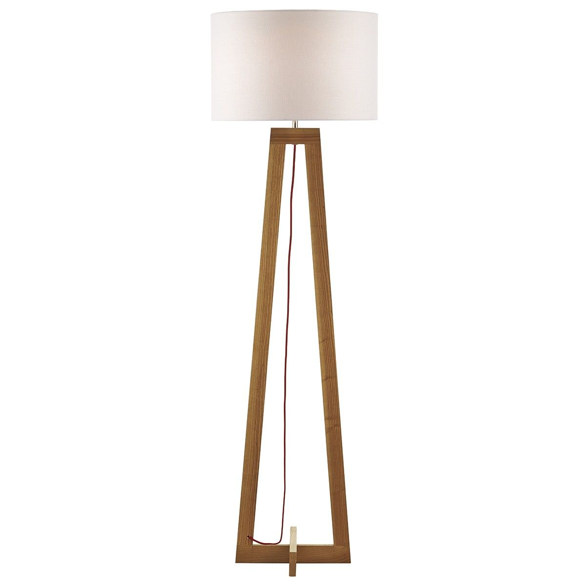 125 Wisconsin Floor Lamp Wood Base Only No Shade