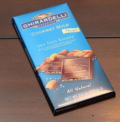 Tried this for the first time when Influenster sent this to me and I absolutely fell in love with the taste! #Ghiradelli #Chocolate #Yum #SeaSaltEscape #Influenster
