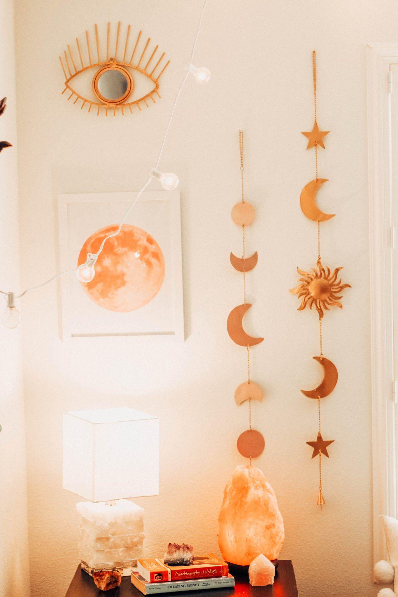 Celestial Wall Hanging Hanging Wall Decor Wall Decor Bedroom Aesthetic Bedroom