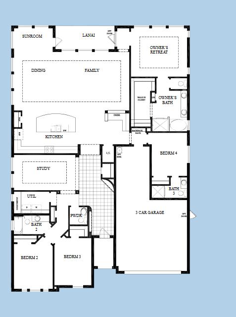 David Weekley 60 Aronwood One Story Homes Home Finder Apollo Beach