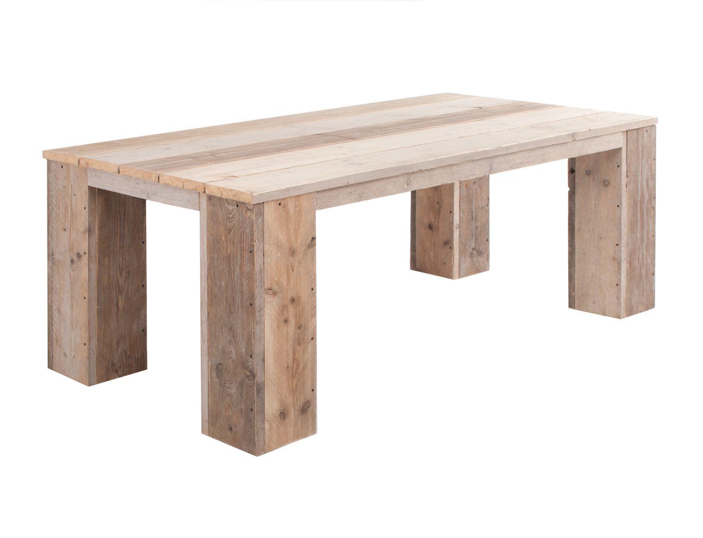 Mooie Steigerhouten Tafel.Steigerhout Tuintafel Gusto 1 40m L X 1 40m B Mooie