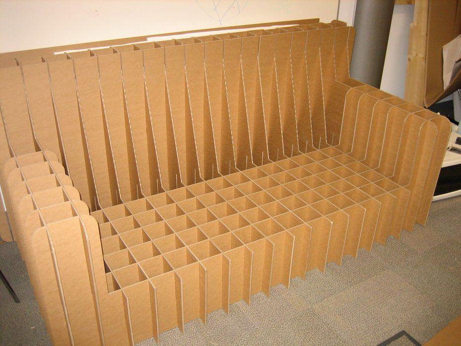 Cardboard Sofa Cardboard Furniture Diy Cardboard Furniture Diy Sofa