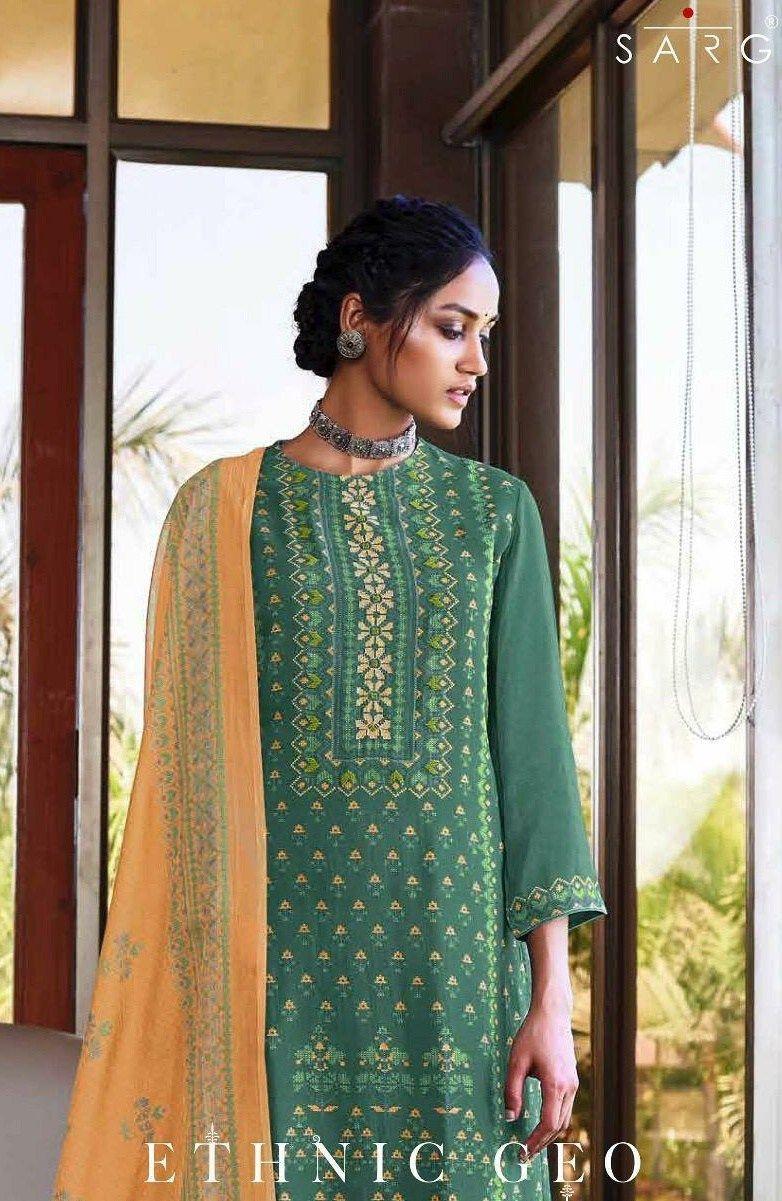 1dfa4f52c6 Sahiba Sarg Ethnic Designer Digital Printed Summer Kote Dress Material with  Handwork at Wholesale Rate