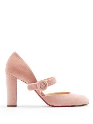 Cheap Christian Louboutin Miss Kawa 85mm Patent Leather Mary