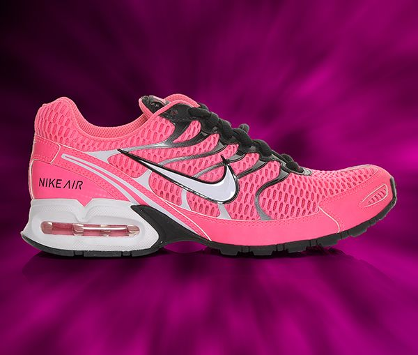 017830497e2171 Women s Nike Air Max Torch 4 Running Shoes in Pink Black at Shoe Carnival