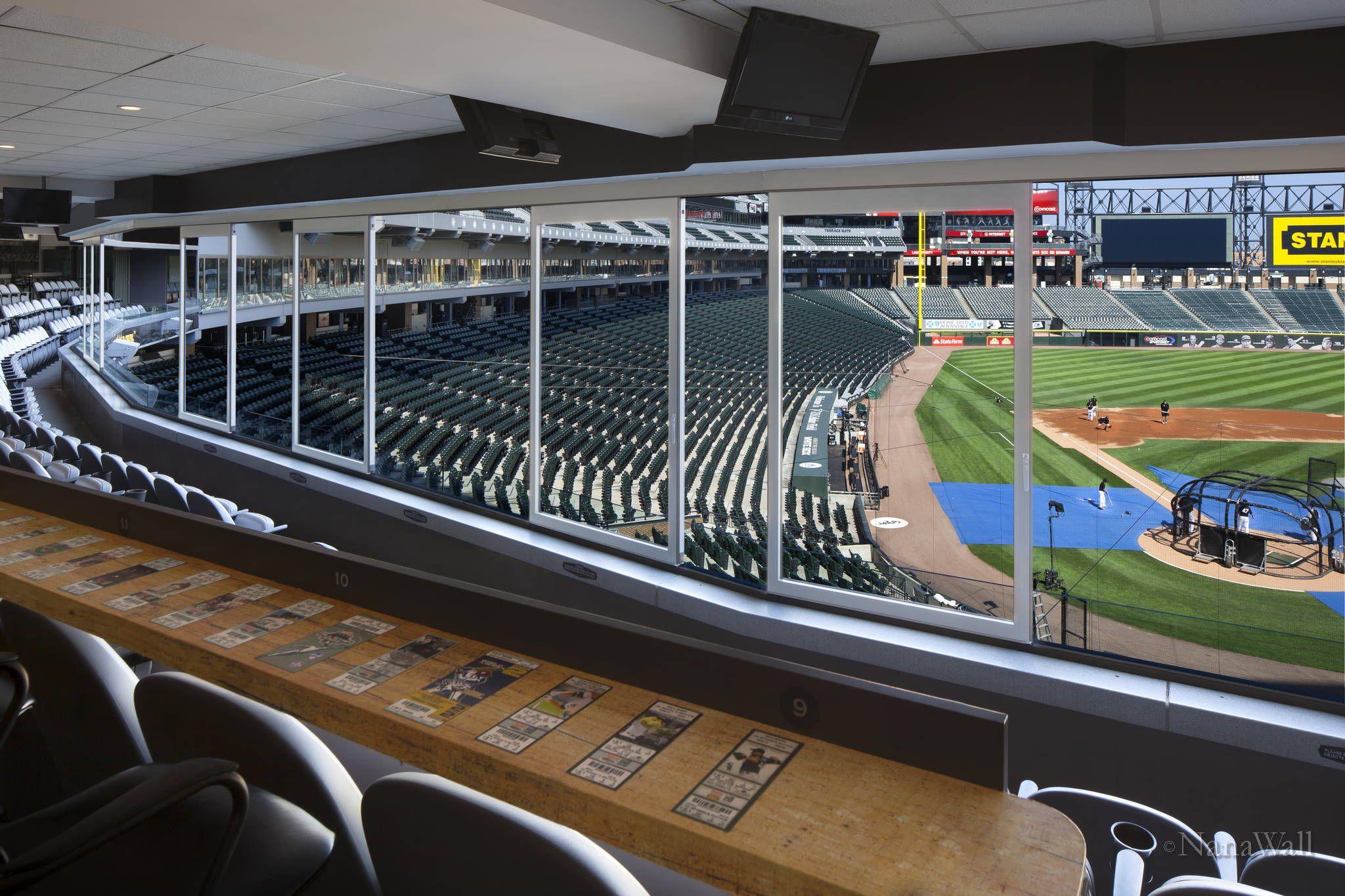 Chicago White Sox Stadium Nanawall In 2020 School Building Design Chicago White Sox Stadium Chicago White Sox