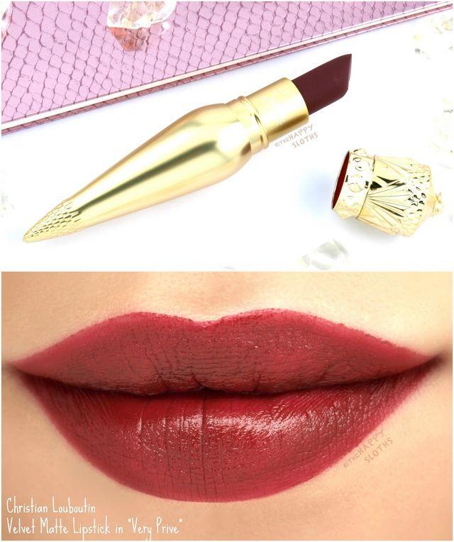 109065adcb Christian Louboutin Velvet Matte Lipstick in