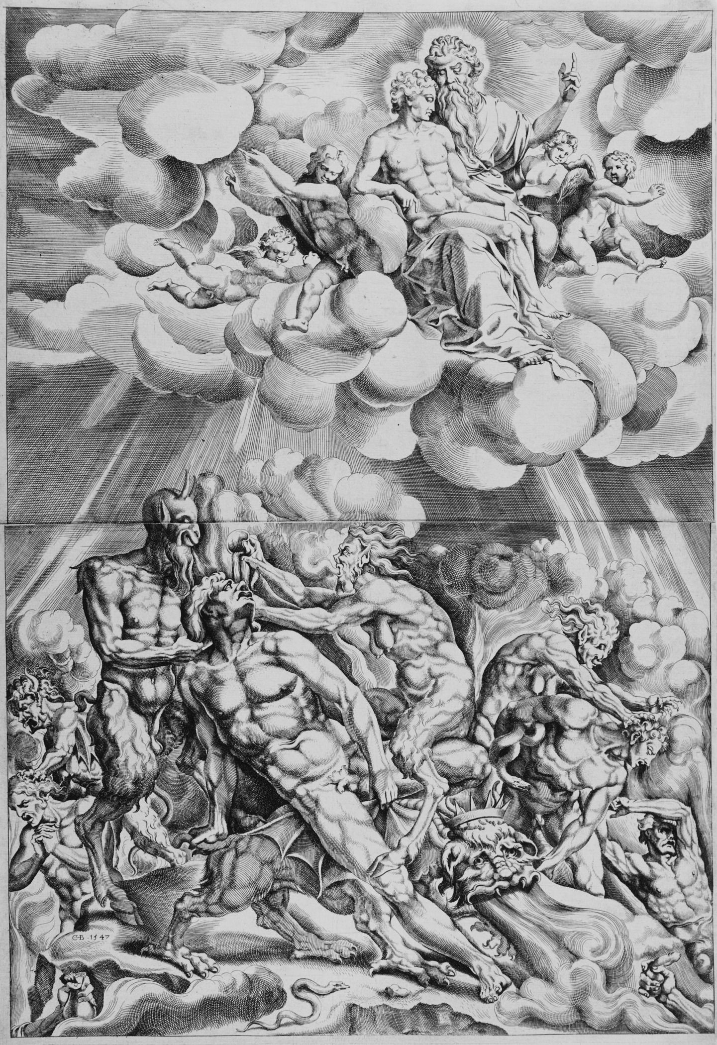 Pin by Richard Kincaid on Bible Art | Heaven, hell, Bible ...