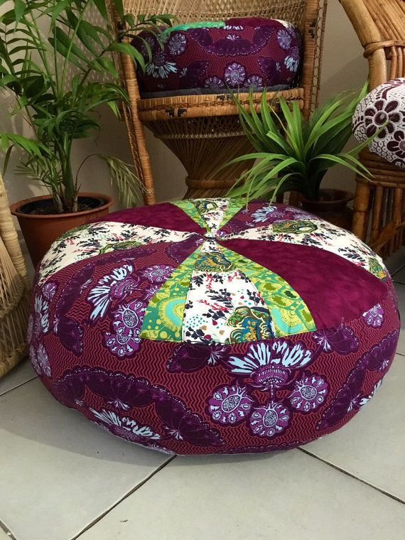 Unfilled Large La Boheme Floor Cushion Cover Made in Australia