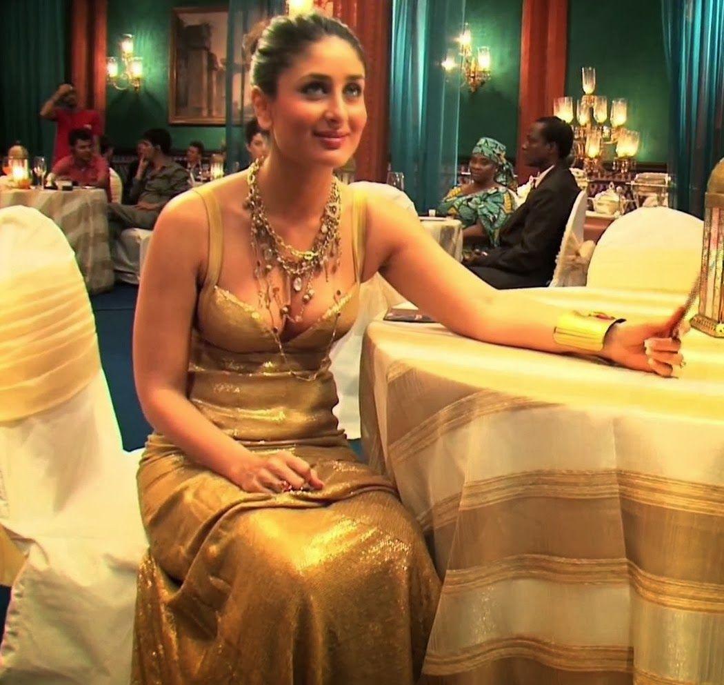 Kareena Kapoor Leaked Honeymoon Photos and Hot Cleavage ... Agent Vinod Kareena Dress