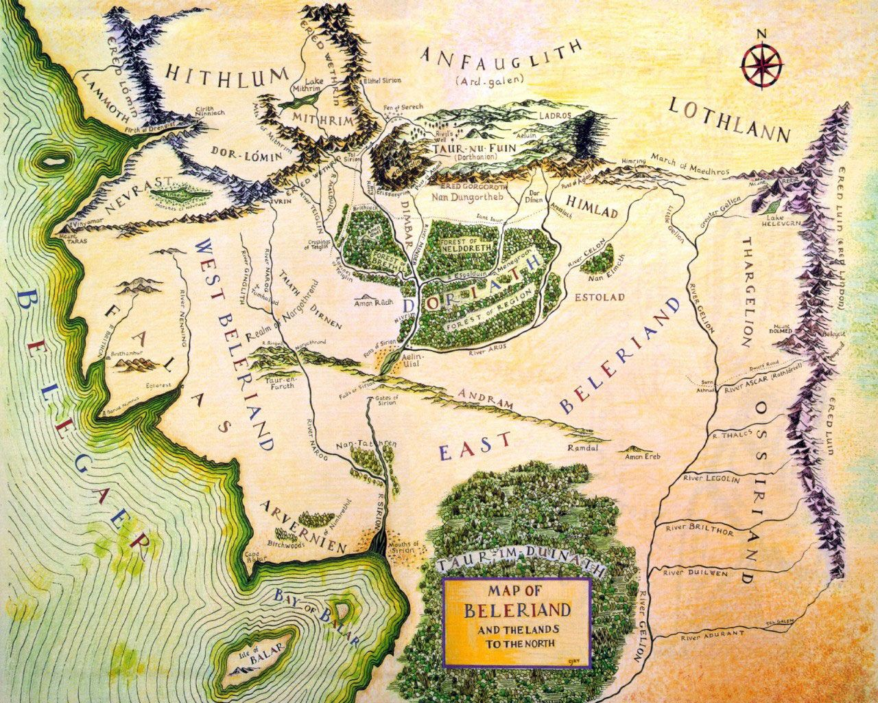 The Wars Of Beleriand Battles From The Silmarillion Ln Family Us Search By Image Battles From The Silmarillion Map Of Beleriand