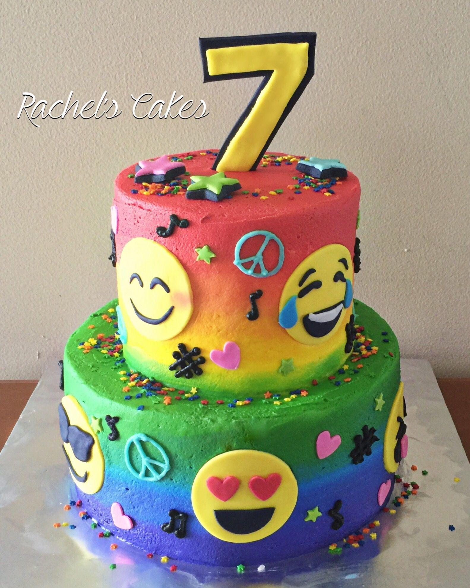 Cake Designs Emoji : Emoji cake My Own Cakes Pinterest Emoji cake, Cake ...