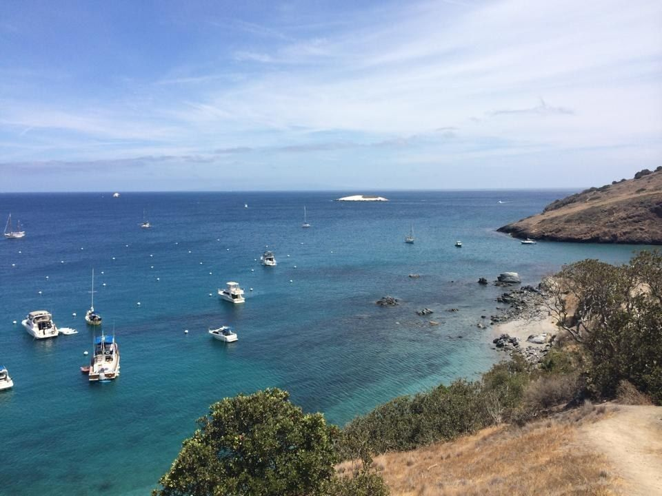 7. Two Harbors Campground, Catalina Island, California