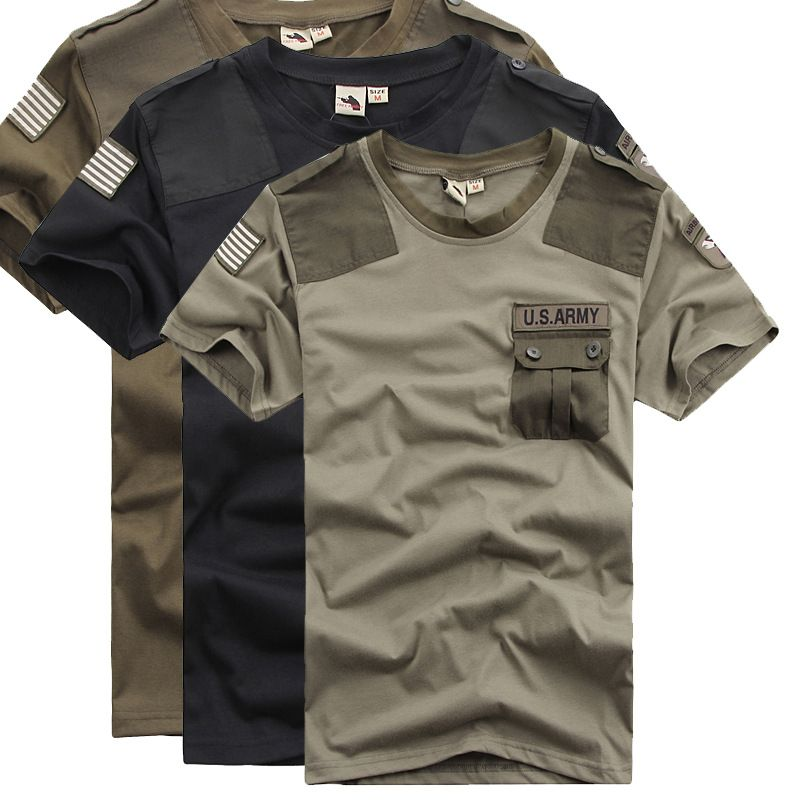 Summer Coolmax Tactical Camouflage T Shirt Men Breathable Quick ...