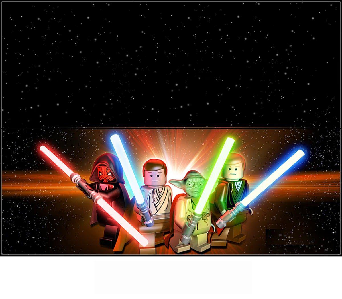 Lego Star Wars: Etiquetas para Bolsas de Golosinas para Imprimir ...