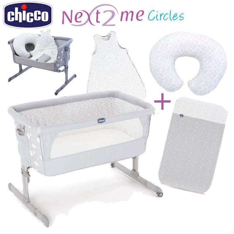Pack Cuna Chicco Next2Me Edición Especial Circles 2016   Chicco ...
