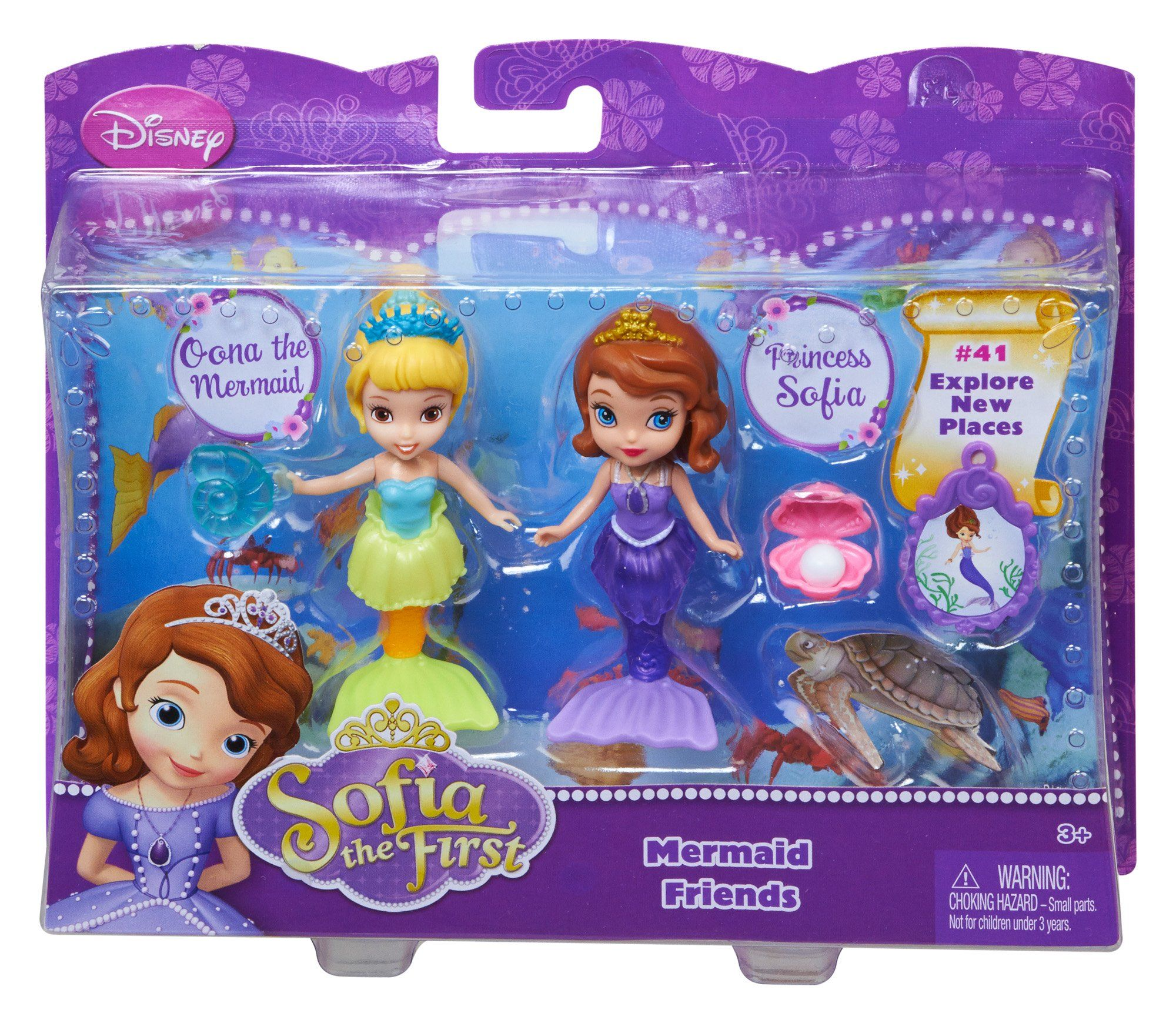 Disney Sofia The First 3 Quot Sofia And Oona The Mermaid Doll