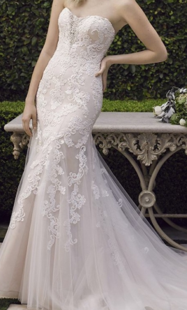 Casablanca Lotus 2242 Wedding Dress Currently For Sale At 22 Off Retail