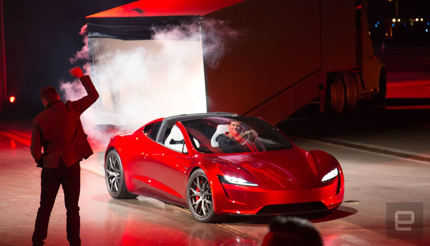 Tesla Brings Back The Roadster In A Very Fast Way