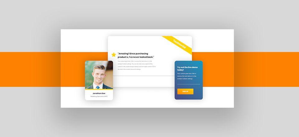 How To Create Overlapping Columns With Divi S Column Transform Options Web Design Fashion Web Design Web Design Tutorials