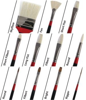 Daler Rowney New Georgian Oil Brushes