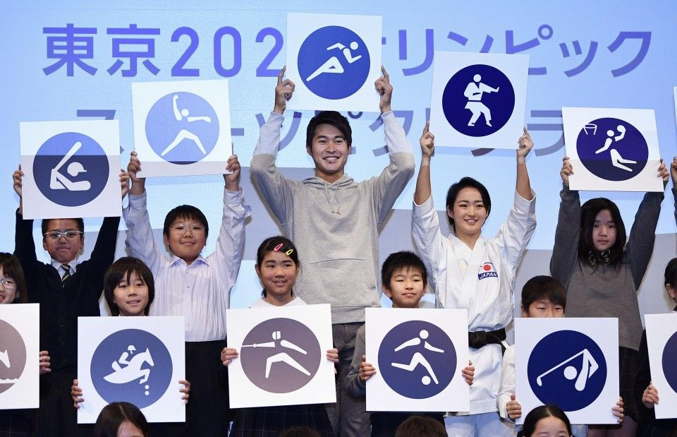 Tokyo Olympic pictograms unveiled, redesigned from those