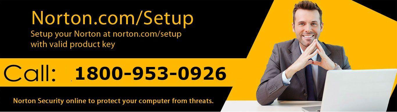 Setup Norton Security at enter your