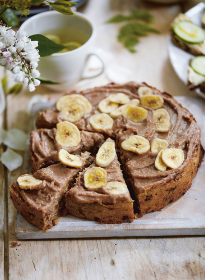 Banana & Raisin Cake