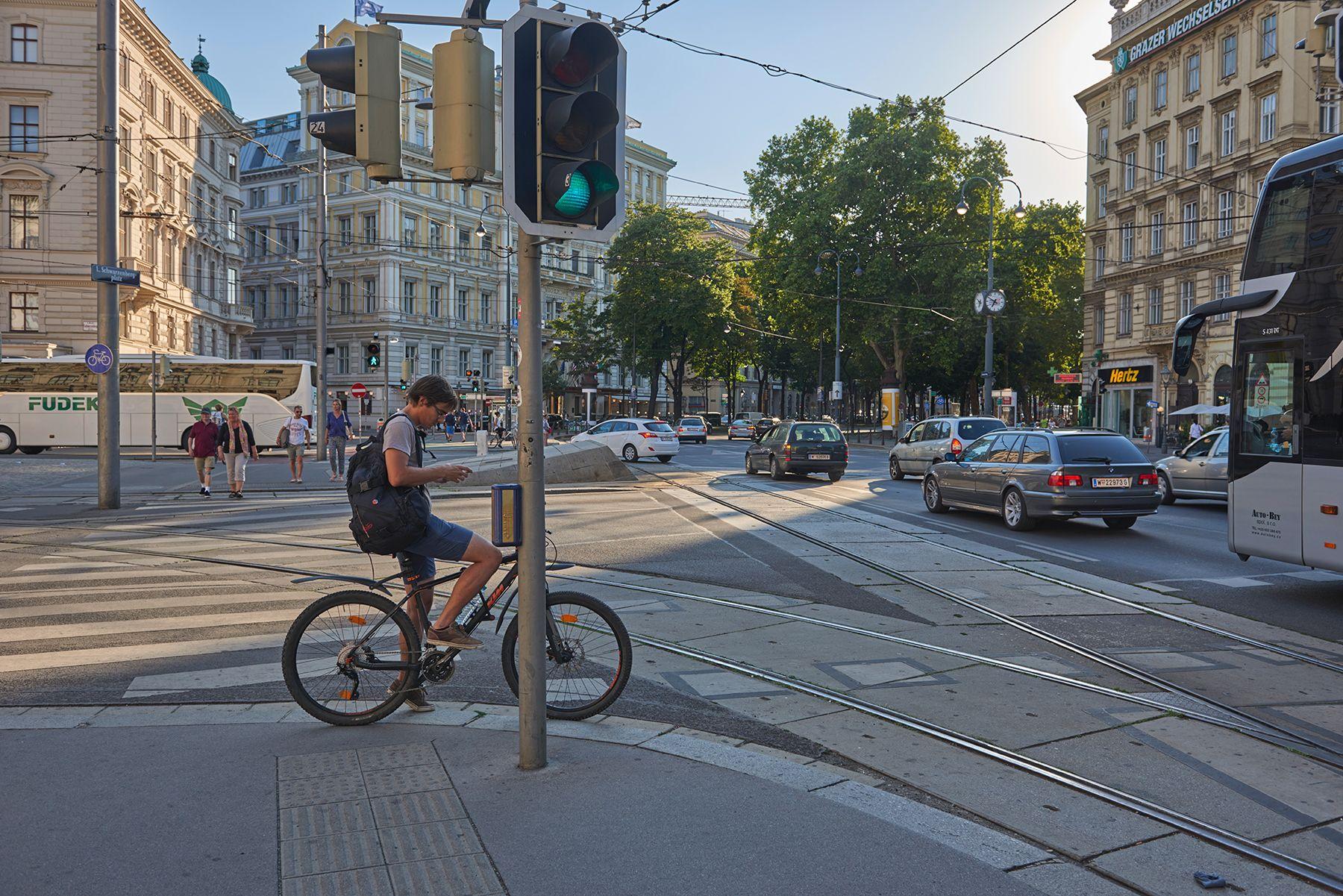 En bicicleta por Viena