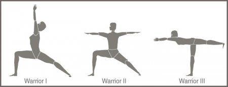 become a yoga warrior with virabhadrasana  warrior pose